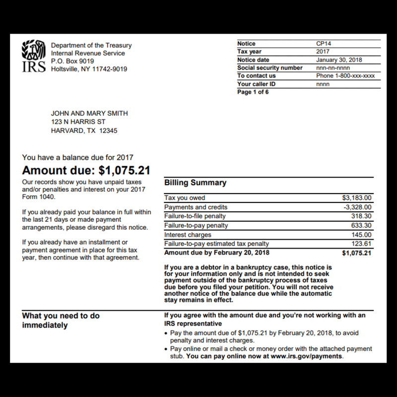Irs Notice Archives Tax Defense Network Tax Help Consolidate